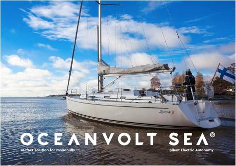 Oceanvolt SEA monohull electric saildrive