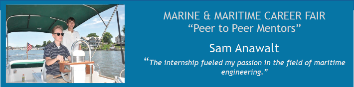 Annapolis Hybrid Marine STEM Intern Sam Anawalt is Peer to Peer Mentor
